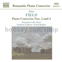 Piano Concertos Nos. 2 and 4 (Naxos Audio CD)