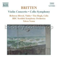Violin Concerto Op. 15/Symphony for Cello and Orchestra Op. 68 (Naxos Audio CD)