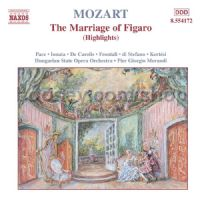 Marriage of Figaro (Highlights) (Naxos Audio CD)