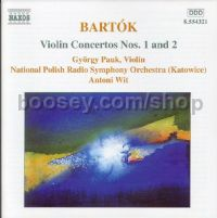 Violin Concerto No.1 Sz 36/Violin Concerto No.2 Sz 112 (Naxos Audio CD)
