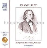 Complete Piano Music (12): Hungarian Rhapsodies vol.1 (Naxos Audio CD)