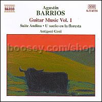 Guitar Music vol.1 (Naxos Audio CD)