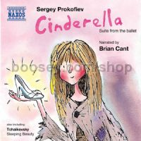 Cinderella Suites 1-3/Sleeping Beauty Op 66a (Naxos Audio CD)