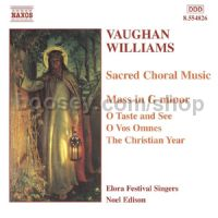 Mass in G Minor & other various motets (Naxos Audio CD)