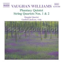 Phantasy Quintet/String Quartets Nos. 1-2 (Naxos Audio CD)
