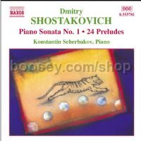 Works for Piano (Naxos Audio CD)