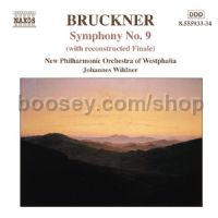 Symphony No.9 (with reconstructed Finale) (Naxos Audio CD)