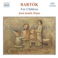 For Children Sz.42 (vols. 1 & 2) (Naxos Audio CD)
