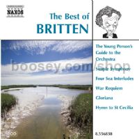 Best Of Britten (Naxos Audio CD)