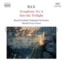 Symphony No.6/Into the Twilight (Naxos Audio CD)