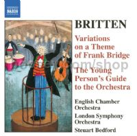 Young Person's Guide to Orchestra/Occasional Overture etc. (Naxos Audio CD)