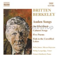 Auden Songs: On this Island Op. 11/Fish In The Unruffled Lakes/5 Poems Op. 53 etc. (Naxos Audio CD)
