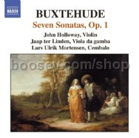 7 Sonatas, Op. 1 (Naxos Audio CD)