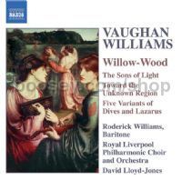 Willow-Wood/The Voice out of the Whirlwind/The Sons of Light and other works (Naxos Audio CD)