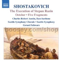 Execution of Stepan Razin Op 119/October/Fragments (5) Op 42 (Naxos Audio CD)