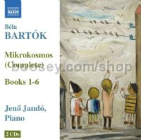 Mikrokosmos - complete books 1-6 (Naxos Audio CD)