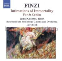 Intimations of Immortality/For St Cecilia (Naxos Audio CD)