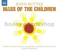 Mass Of The Children/Shadows/Wedding Canticle (Naxos Audio CD)