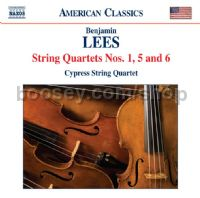 String Quartets Nos.1, 5 & 6 (Naxos Audio CD)