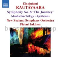 Symphony No.8 The Journey/Manhattan Trilogy/Apotheosis (Naxos Audio CD)