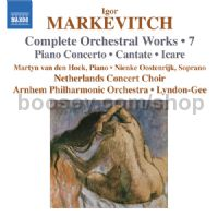 Complete Orchestral Works vol.7 Piano Concerto/Cantate/Icare (Naxos Audio CD)