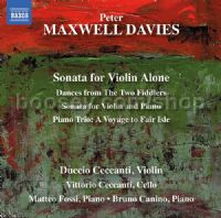 Sonata Violin Alone (Naxos Audio CD)