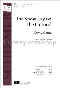 The Snow Lay on the Ground (SSAA Choral Score)