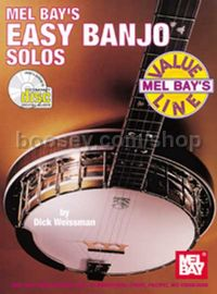 Easy Banjo Solos (Book & CD)