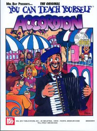 You Can Teach Yourself Accordion (Book & CD)