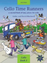 Cello Time Runners: A second book of very easy pieces for cello (Bk & CD)