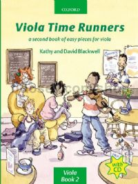 Viola Time Runners (Book & CD)