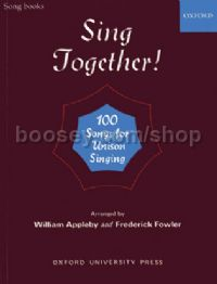 Sing Together Voice (Solo or Unison) & Piano