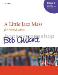 A Little Jazz Mass (SATB vocal score)