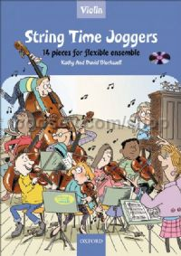 String Time Joggers Violin (Book & CD)
