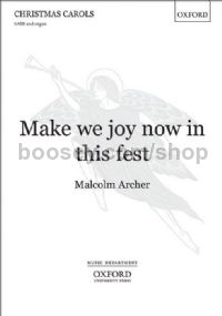 Make We Joy Now In This Fest (SATB & organ)