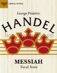 Messiah Ed Bartlett New Oup Edition