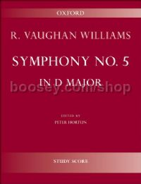 Symphony No. 5 for full orchestra (study score)