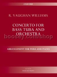 Concerto for bass tuba and orchestra (tuba and piano)