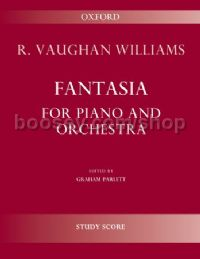 Fantasia for piano and orchestra (study score)