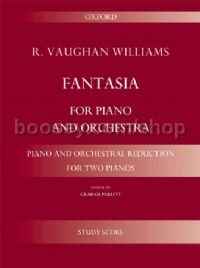 Fantasia for piano and orchestra - reduction for 2 pianos