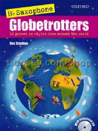 Saxophone Globetrotters - B flat edition (Book & CD)