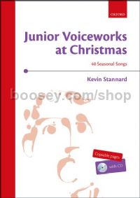 Junior Voiceworks At Christmas (Book & CD)
