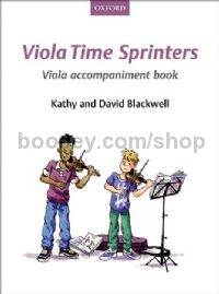 Viola Time Sprinters - Viola accompaniment