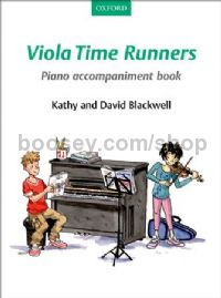 Viola Time Runners - Piano accompaniment