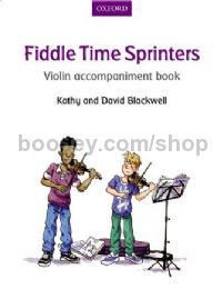 Fiddle Time Sprinters Violin Accompaniment Book REVISED EDITION