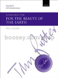 For the beauty of the earth (full score)