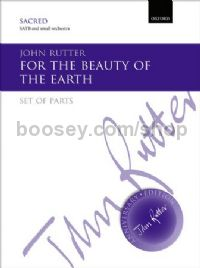 For the beauty of the earth (set of parts)