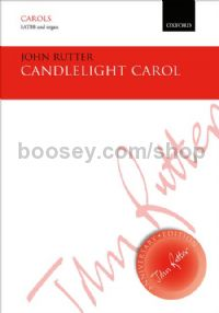 Candlelight Carol (SATBB vocal score)