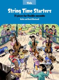 String Time Starters - Viola book