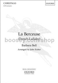 La Berceuse (French Lullaby) for SATB & piano